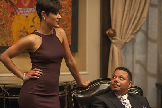 "Terrence Howard and Grace Gealey in ""Empire"""