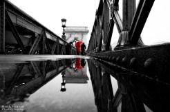 Walking after rain