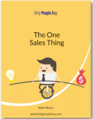 The one sales thing free ebook