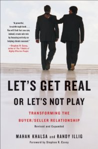 Book Cover: Let's Get Real or Let's Not Play