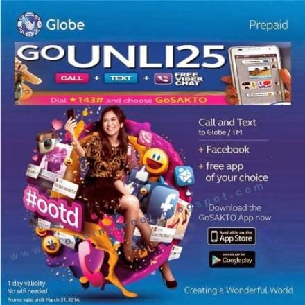 globe unli25
