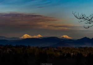 The three sisters (Oregon Cascades)
