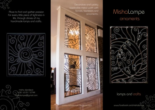 Metal Fences brochure front side