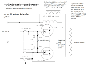 500W Royer induction heater | Marko's science site