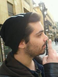 Marko Bension en Salamanca