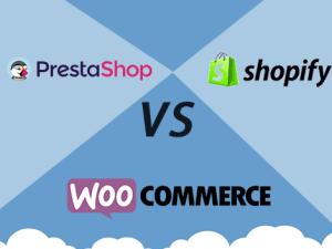 Tienda Online - Prestashop vs Shopify vs WooCommerce