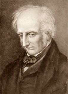 1770-1850 britischer Dichter.CDV-Foto 5,9 x 8,2 cm nach einem Gemälde, herausgegeben von Friedrich Bruckmann Verlag München London.
