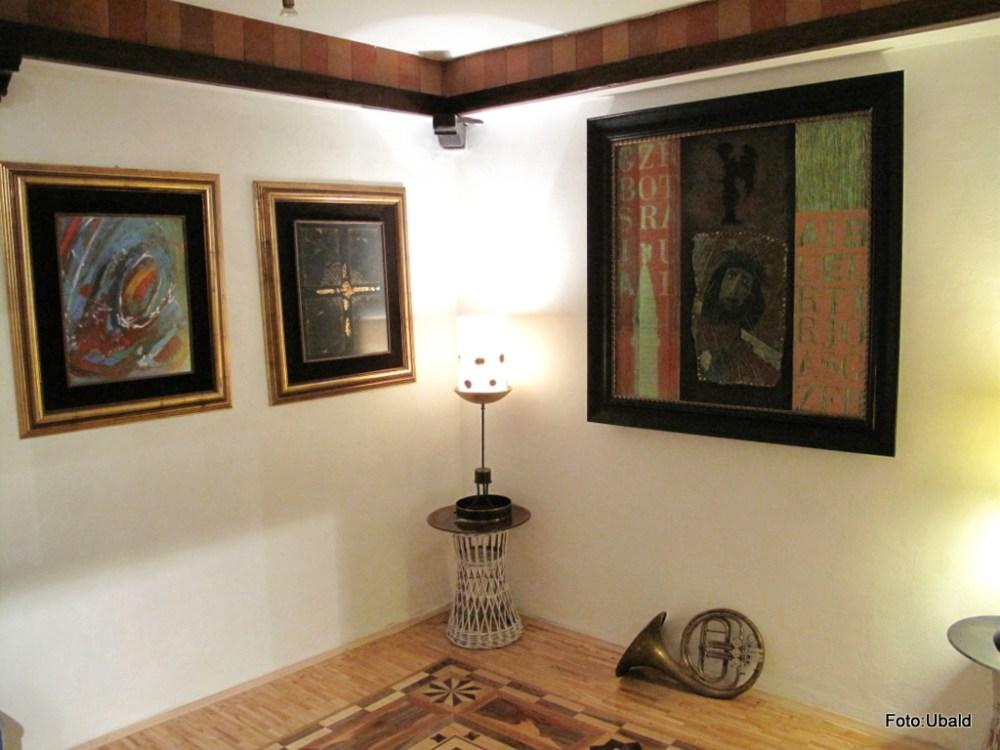 Exhibition in Gallery BF, Piran  (3/6)