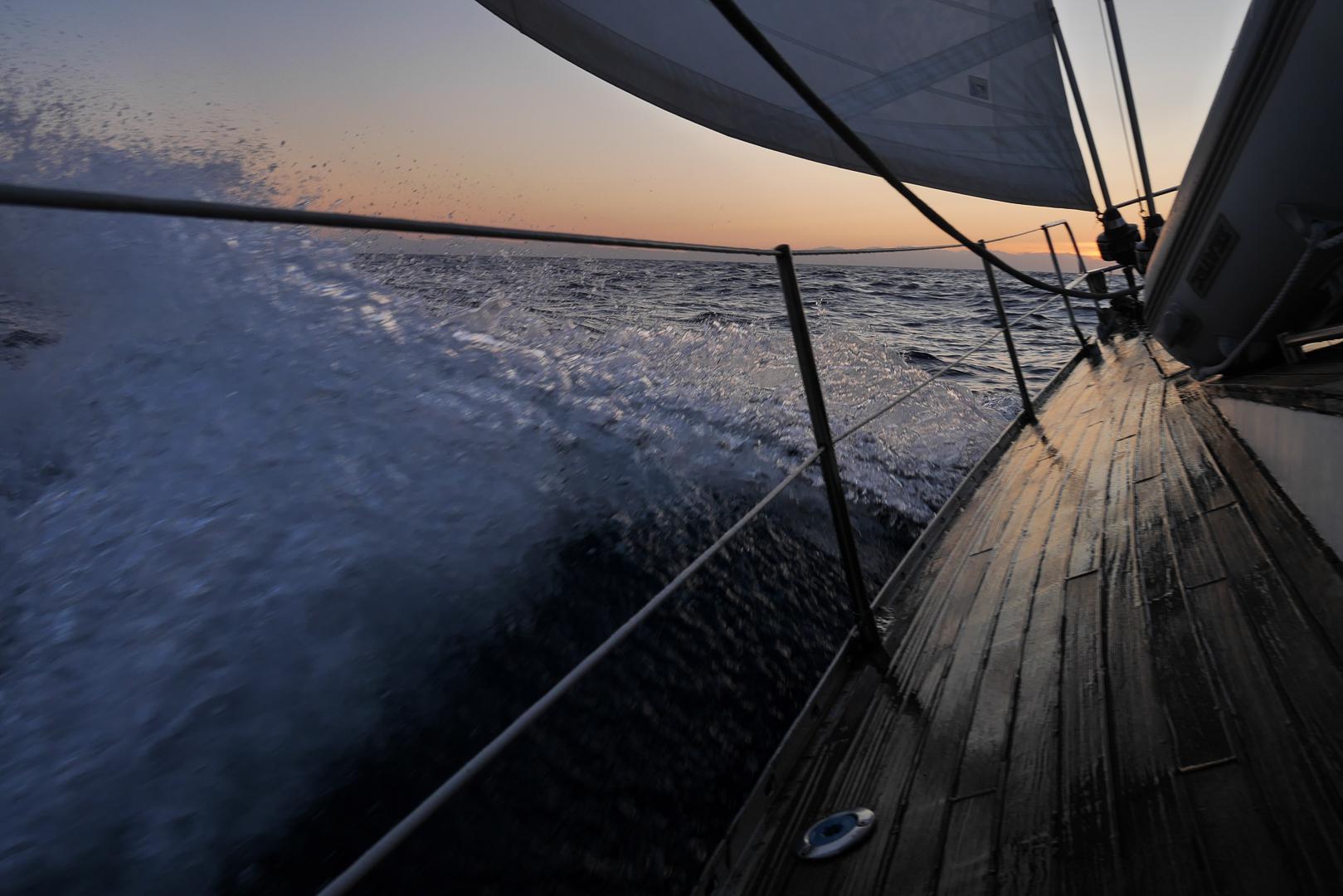 ITALY, Tyrrhenian Sea – Sailing. © Marko Kecman