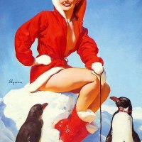 Gil Elvgren illustrations