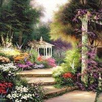 Flower landscapes by Egidio Antonaccio