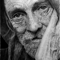 Hyper realistic drawings by Franko Clun