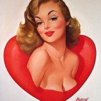 Pin-up style and its artists