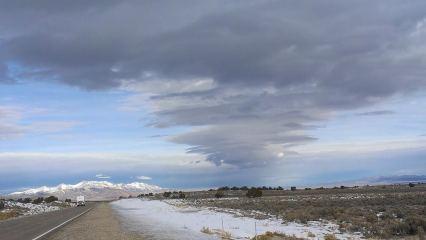 Nevada sky.