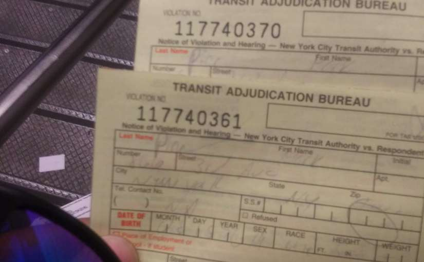 The NYPD scammed me again tonight in the Grand Central subway station.