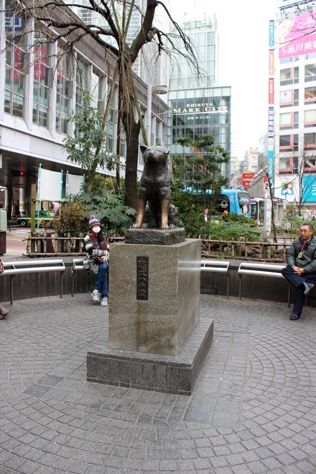 Hachi, the famous Japanese dog.