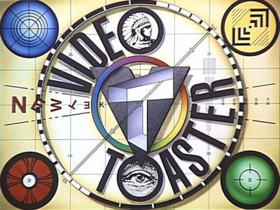 Original NewTek Video Toaster Logo