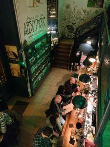 Visiting Prague - The Absintherie