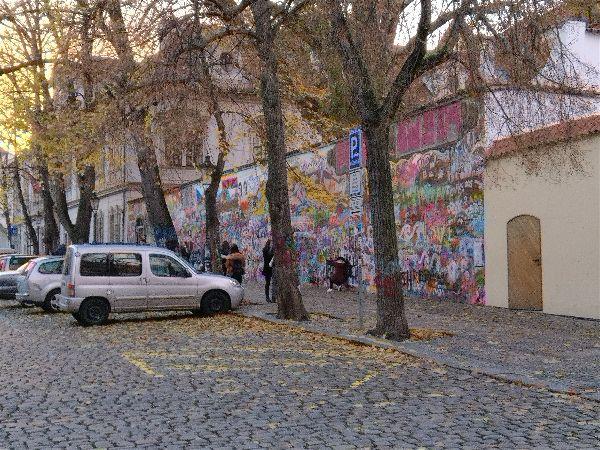 Visiting Prague - John Lennon Wall