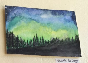 violette DeGarmo.night sky PA AP arts