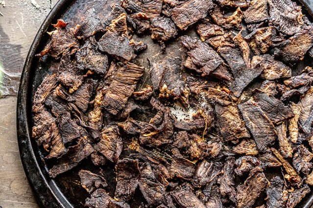 how to make pemmican dried bison