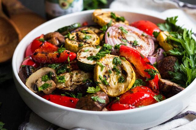 greek grilled veggies recipe