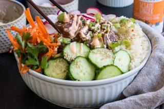 tuna poke bowl recipe