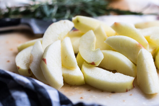 apple slices for baked ham recipe