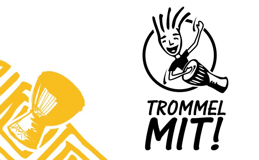 Corporate Design für Trommel Mit!