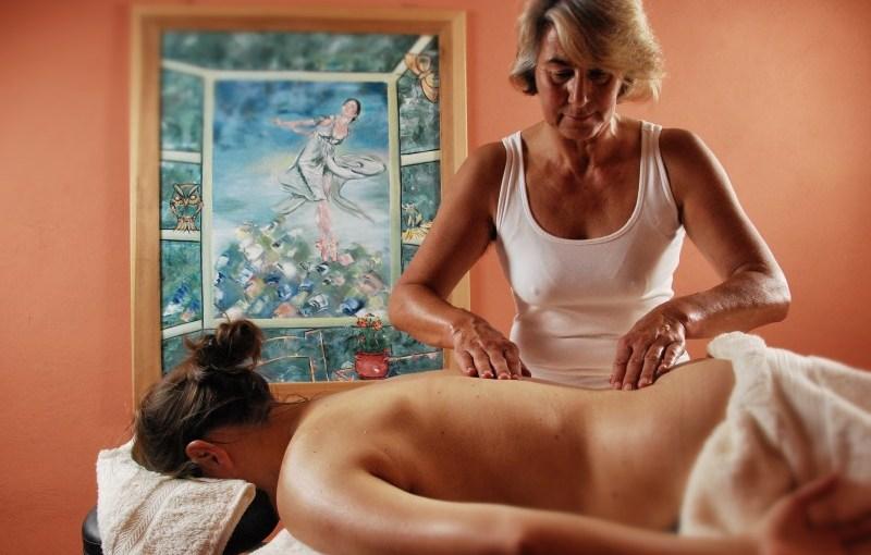 Werbefotografie Massage