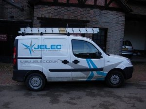 Jelec Vehicle Livery Sign Writing design