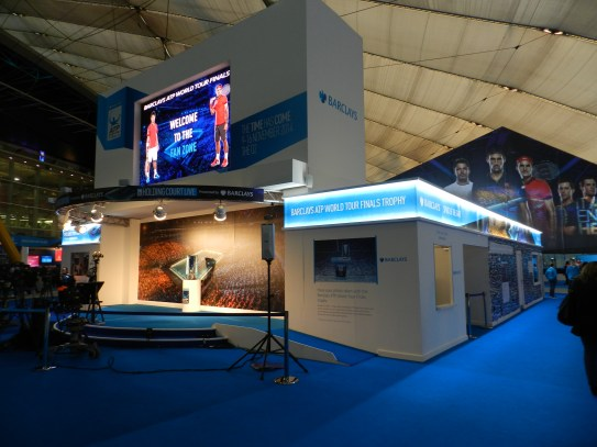 Barclays ATP Exhibition Stand design
