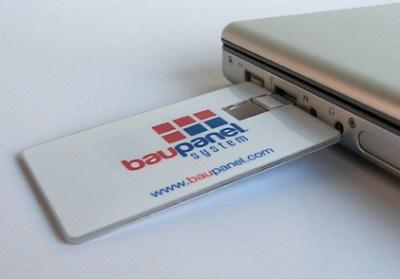 Baupanel Flash Drive Graphic design