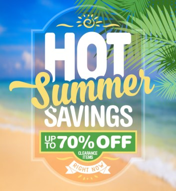 Hot Summer Savings Promotion