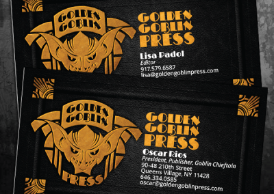 Golden Goblin Press Business Cards