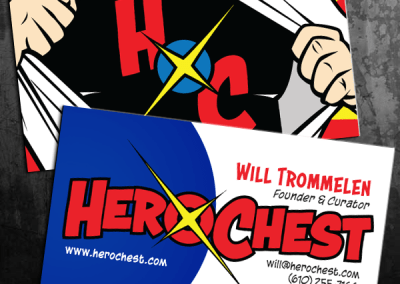 Hero Chest Business Cards