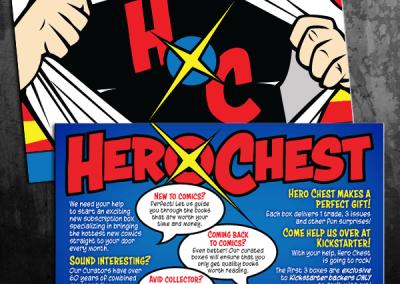 Hero Chest Postcards