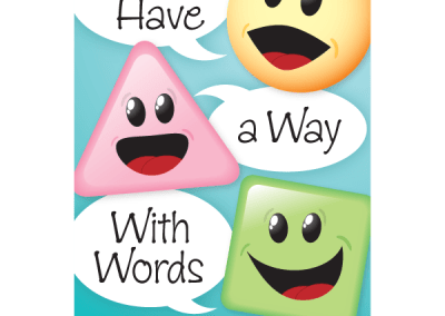 """""""We Have a Way With Words"""" Speech-Language Pathology Magnet"""