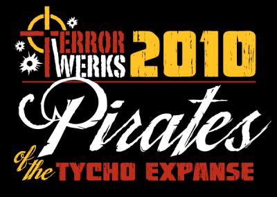 TerrorWerks 2010 Tee Shirt Design