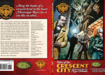 """Tales of the Crescent City"" RPG Supplement"