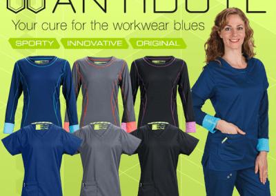Antidote Scrubs Promotion