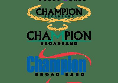 Champion Broadband Branding