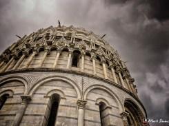 The Baptistry, Piazza dei Miracoli, Pisa, Tuscany, Italy