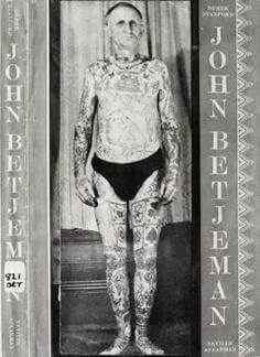 John Betjeman as Tattooed Man