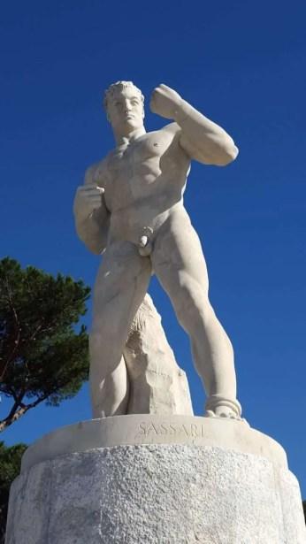 Sassari - naked boxer front