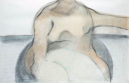Seated figure in a Landscape