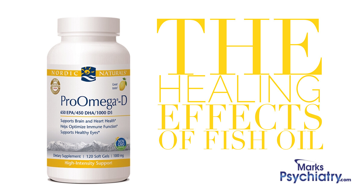 The Healing Effects of Fish Oil