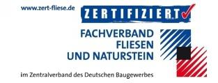 Zertifizierter Betrieb im Fachverband Fliesen und Naturstein