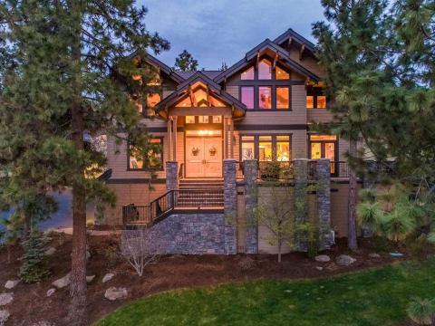 Modern Lodge House Plans | Unique Lodge Home Plans with Garages on