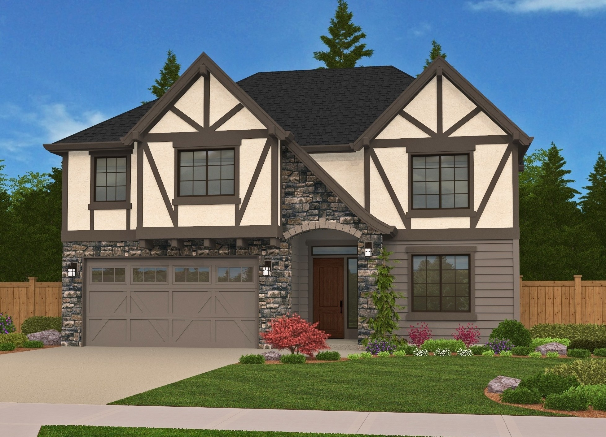 Bavaria house plan bungalow house plans cottage house for Old world style house plans